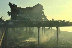 Intimidazioni: stabilimento balneare incendiato nel Catanzarese