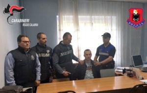 Arrestato dai carabinieri in Albania rapinatore latitante
