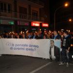 Lamezia: fiaccolata in ricordo dell'Avvocato Francesco Pagliuso