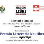 Lamezia: presentazione Premio Letterario Nautilus