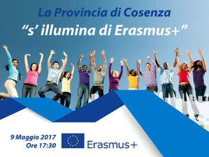 Cosenza: Giornata Europa, la Provincia s'illumina d'Erasmus
