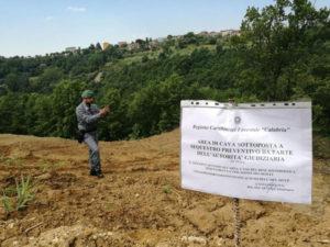 Cava abusiva sequestrata a Cosenza, denunciati due imprenditori