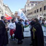 """Rossano: ex Tribunale manifestazione a Roma """"obiettivi raggiunti"""""""