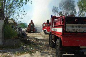 Distrutto da incendio lido nel Cosentino, indagini