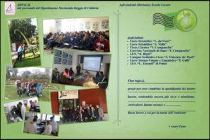 Arpacal Reggio concluso progetto Alternanza Scuola-Lavoro