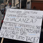 Lamezia: i truffati da Torchia protestano davanti Banca Fideuram