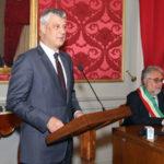 Cosenza: Presidente Kosovo ospite nel Palazzo della Provincia