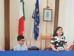 Castrovillari: eletto presidente consiglio dei bimbi e ragazzi