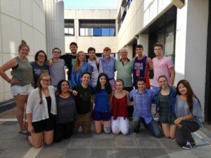 Studenti e docenti della Pennsylvania State University alla Mediterranea