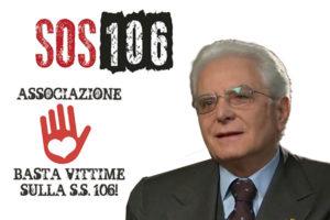SS 106: 25.000 firme inviate a Mattarella da associazione