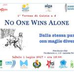 """Lamezia: domai prima edizione torneo """"no one wins alone"""""""
