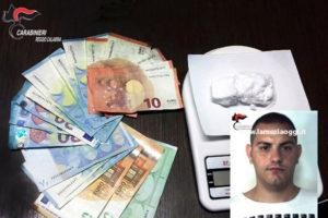 Droga: giovane arrestato dai Carabinieri a Reggio Calabria