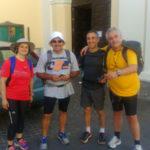 Lamezia: cinque pellegrini a piedi dal Santuario di Dipodi a Paola