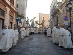 Catanzaro: processione del Corpus Domini prescrizioni circolazione