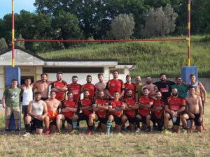 Campionato Italiano di Rugby League, Crociati vs Syrako 54-12