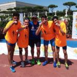Lamezia: atleti lametini in evidenza a Roma al Trofeo Bravin