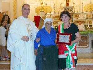 Albidona: Sindaco ai 100 anni di Felicia Munno