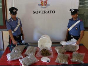 Droga: marijuana nel bar, in manette 3 persone nel Catanzarese
