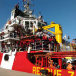 Migranti: in 587 sbarcati a Vibo Valentia