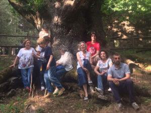 Il Garden Club La Zagara di Catanzaro in visita alle Valli Cupe