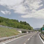 A2: restringimento carreggiata  tra Rogliano e Altilia