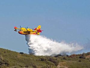 Incendi: emergenza senza fine nel Cosentino, 44 roghi