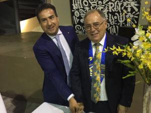 Catanzaro: Maurizio Ferrara è il nuovo Presidente del Rotary Club
