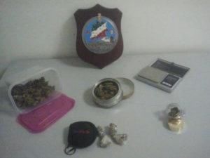 Droga: 21enne denunciato dai carabinieri di Rene