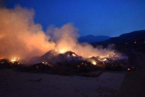 Incendi: roghi nel Reggino, al lavoro l'Unita' di crisi