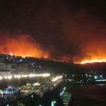 Incendi: notte di fuoco nel Vibonese, fiamme vicino a Santuario