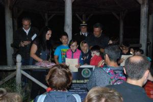 Celebrata nella riserva Marrappà la 'Notte delle lucciole'