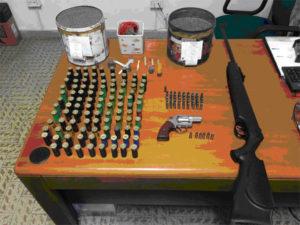 Armi: due persone denunciate dai Carabinieri a Nicotera