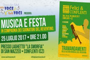 "Concerti: a San Mazzeo una serata di ""Felici&Conflenti"""