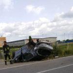 Incidenti: auto si ribalta nel Lametino, morto un 22enne