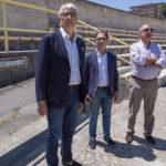 Calcio: Catanzaro, sopralluogo sindaco e societa' allo stadio