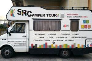 Musica: Camper Tour Scuola Recitazione Calabria