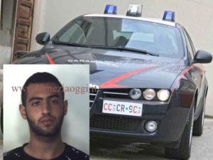 Criminalita': 18enne reggino arrestato dai Carabinieri