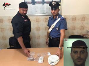 Droga: 32enne  arrestato dai Carabinieri  nel Reggino