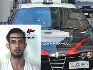Sicurezza: 27enne arrestato dai Cc a Reggio per evasione