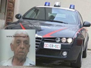 Tentato omicidio e maltrattamenti, 80enne arrestato ad Oppido M.