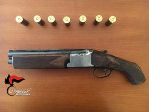 Armi:fucile a canne mozze scoperto tra la vegetazione nel Reggino