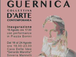 """Arte: a Soveria Mannelli mostra collettiva """"Guernica"""""""