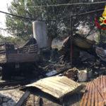 Incendi: Tiriolo, squadre in azione da oltre 14 ore