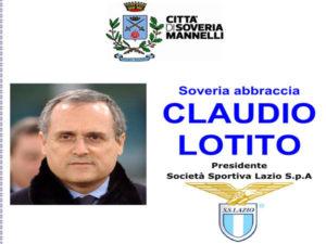 Calcio, Soveria Mannelli abbraccia Claudio Lotito