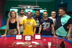 Acconia: concluso il Torneo Asi poker Texas Hold'em