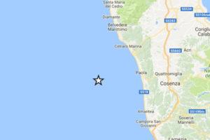 Terremoto: scossa di magnitudo 4.3 in Calabria, nessun danno