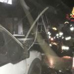 Incendio in magazzino a Lamezia Terme