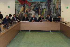 Regione: 1* commissione; Sergio rieletto presidente, Magno vice