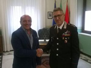 Comune Crotone: sindaco incontra nuovo comandante provinciale Cc