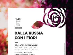 """Turismo: """"Dalla Russia con i fiori"""", iniziativa a Cosenza"""